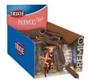 Pluto korv TX PREMIO tuggsalami 8 cm bacon