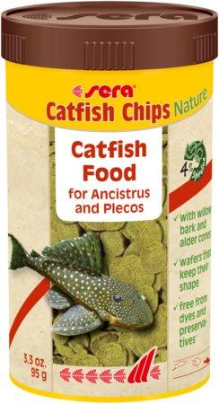 Sera Catfish Chips Nature 250ml