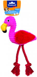 Flamingo m pip, Plysch, Hund