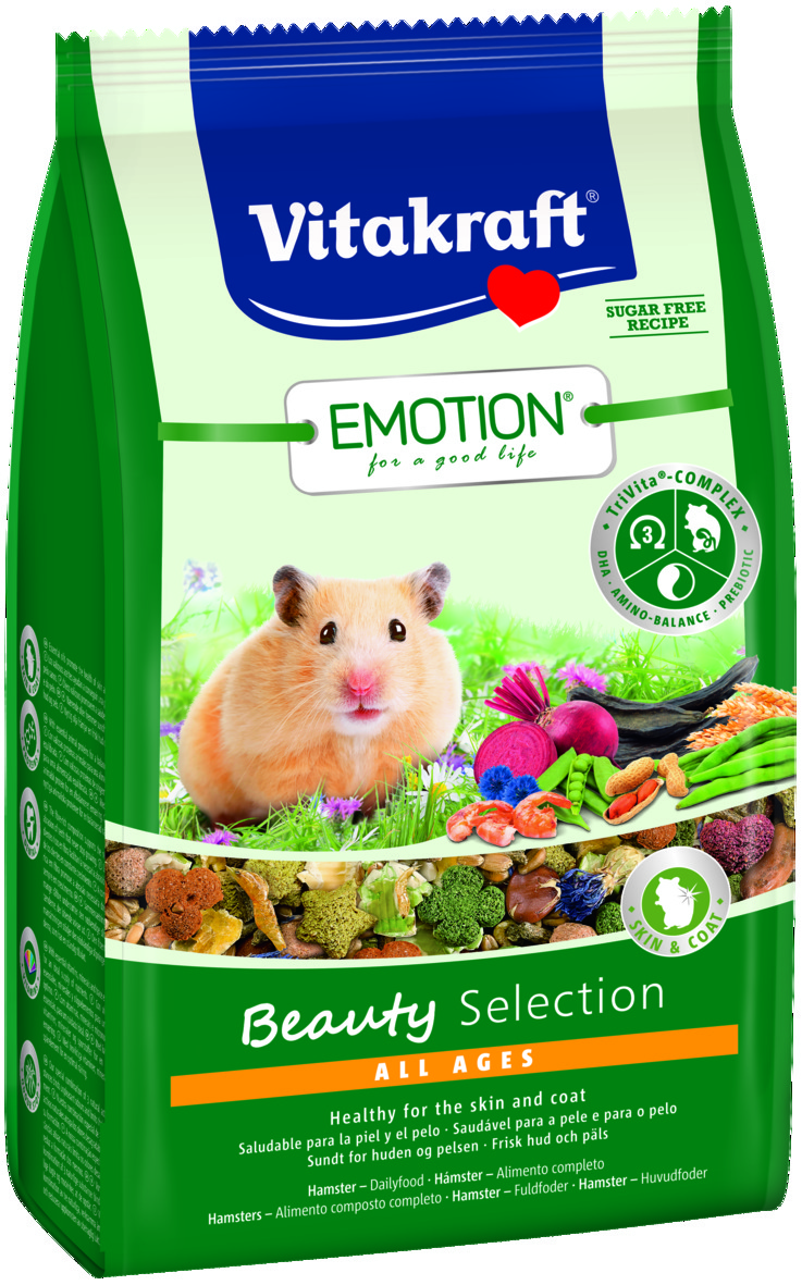 Emotion Beauty 600g, Hamster