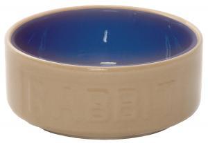 Matskål rabbit 13 cm keramik