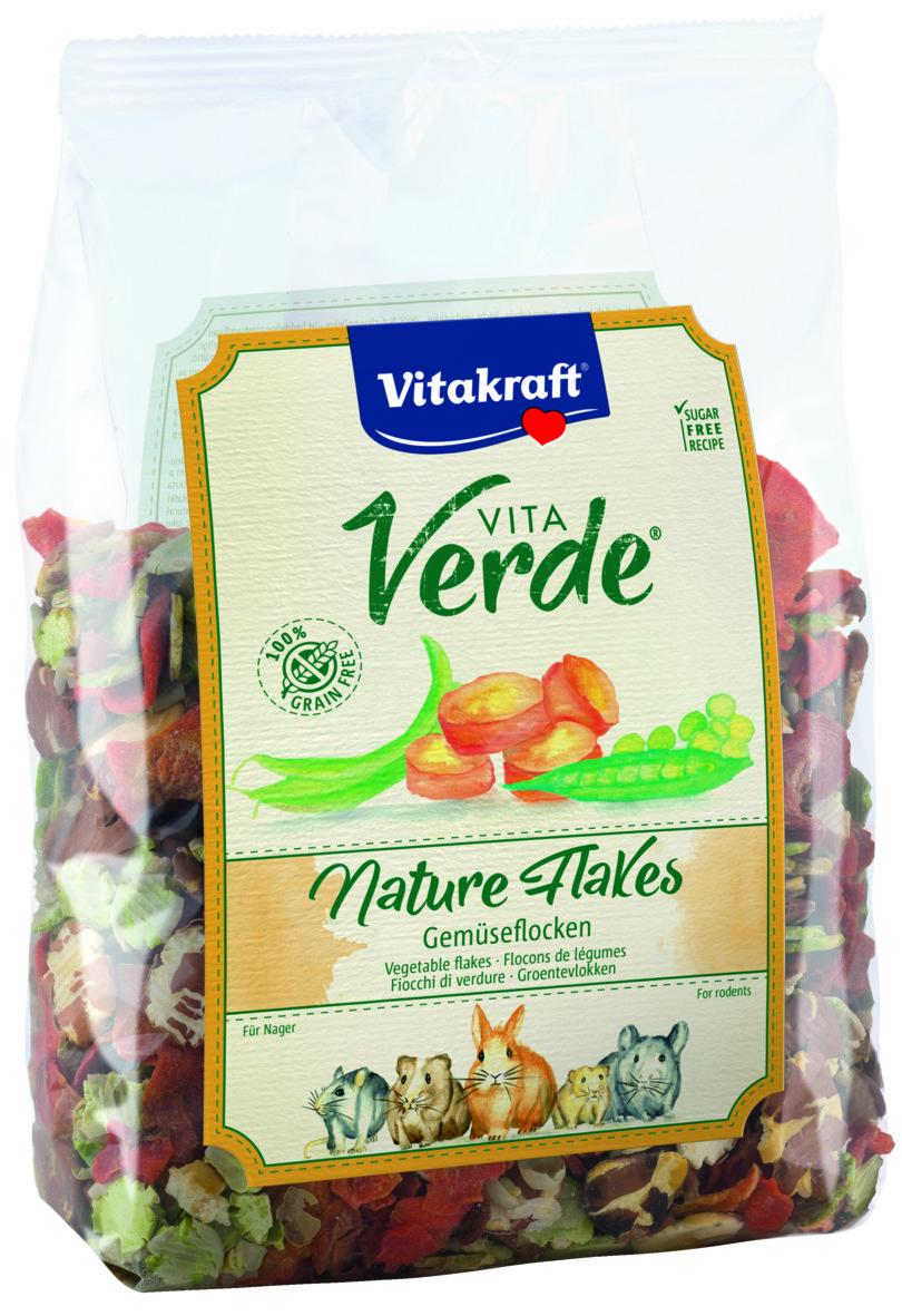 Vita Verde® Nature Flakes, Grøntsagsflager. Alle gnavere