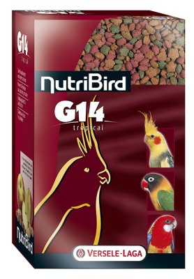 NUTRIBIRD G14 1KG TROPICAL UNDERHÅLL