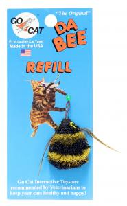 Kattleksak Da Bee Refill Go Cat 4 cm