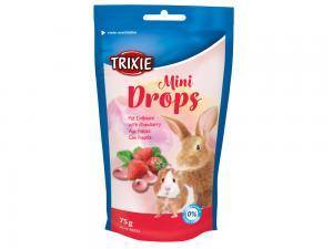 Mini Drops gnagare jordgubb 75 g