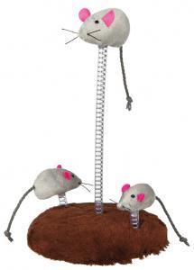 Kattleksak musfamilj, ø 15 × 22 cm