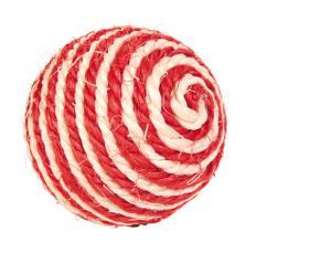 Sisal boll, ø 6 cm