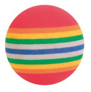 Kattleksak Regnbågsbollar 4-pack 3,5 cm