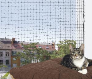 Cat Protect Kattnät Svart 2x1,5 m