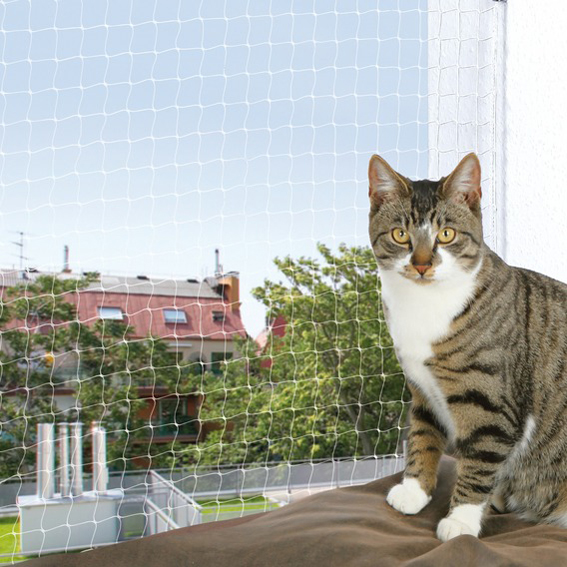 Cat Protect Kattnät Transp. 3x2 m