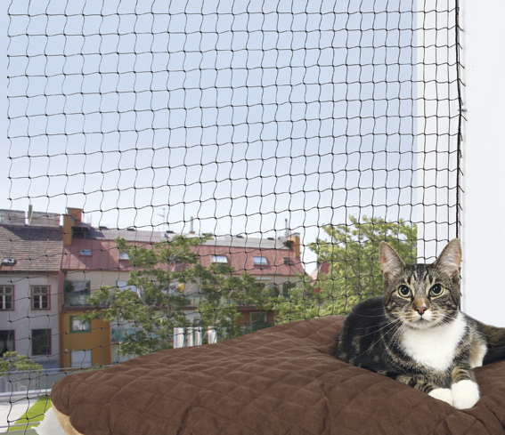 Cat Protect Kattnät Svart 6x3 m