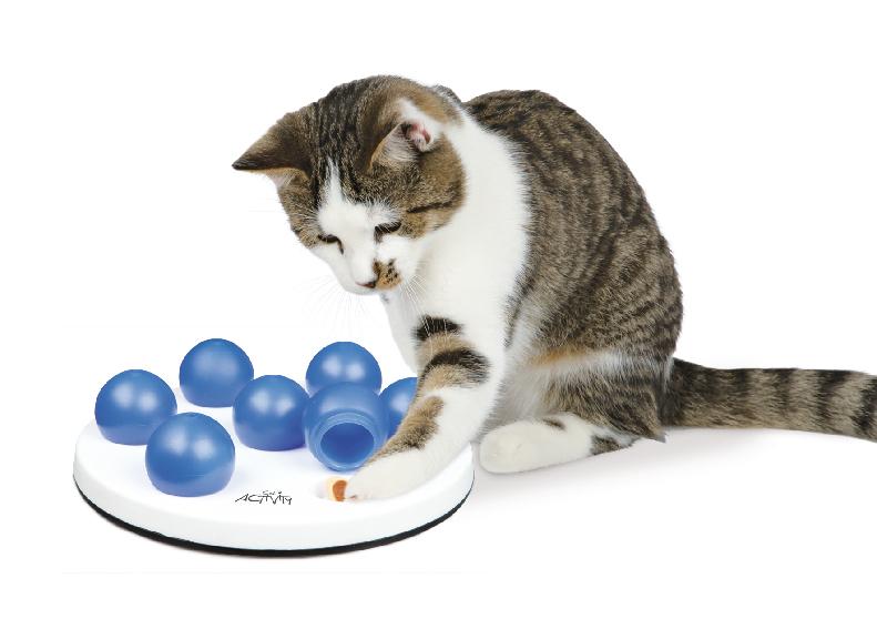 Aktivitetsleksak katt Solitaire 20cm