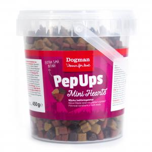 Pep Ups Mini Hearts 450g