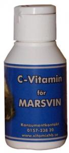 C-vitamin för Marsvin 50ml m Jordgubbssmak