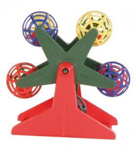 Pariserhjul plast, med bollar, 10 cm