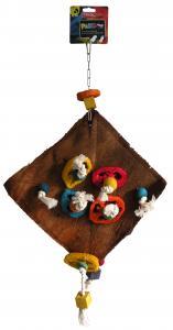 Fågelleksak Cococarpet Pako Tyrol 53 cm
