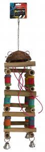 Fågelleksak Poker Tower Pako Sport Tyrol 39 cm