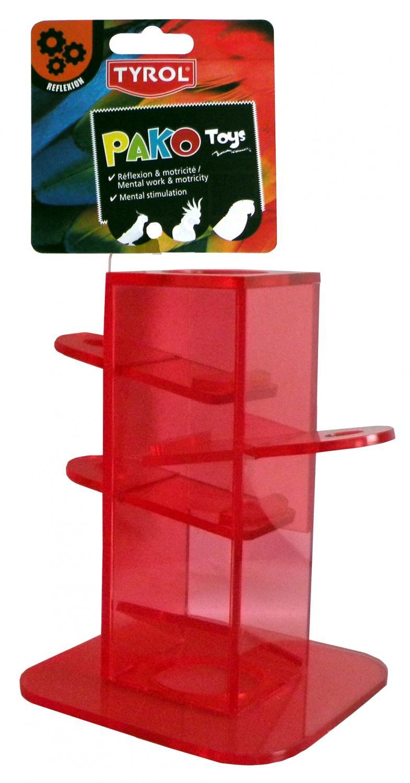 Fågelleksak Mental Tower Pako Reflex Tyrol 14x10 cm