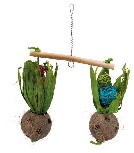 Gungbräda med cocosnötter, 30 × 50 cm