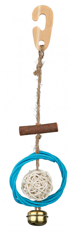 Leksak i naturligt material, 22 cm