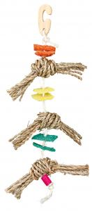 Leksak i naturligt material 43 cm