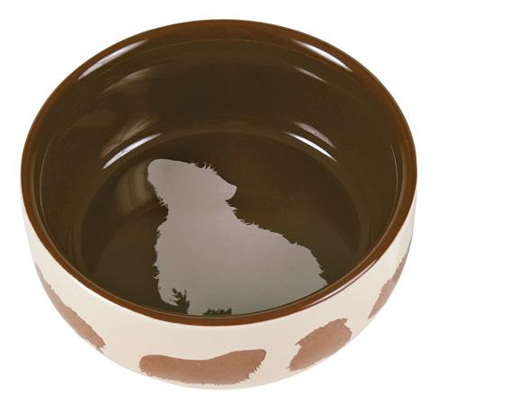 Matskål keramik motiv marsvin 11 cm 250 ml