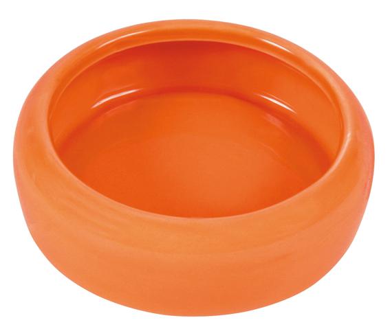 Matskål keramik hamster Bl. frg 9 cm 100 ml