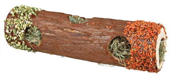"""""""NL"""" Gnagartunnel trä m fyllning 30 cm"""