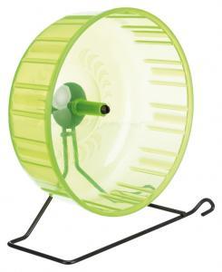 Hamsterhjul plast m stålställning 23 cm