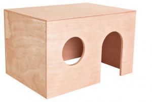 Marsvinshus plywood, 27 × 17 × 19 cm