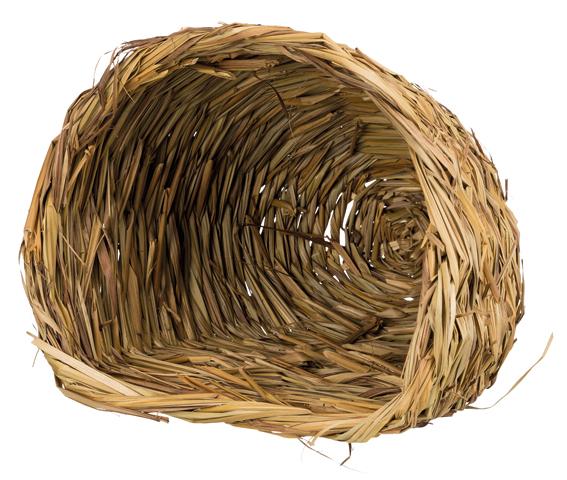 Gräsgrotta för kanin, 30 × 26 × 26 cm