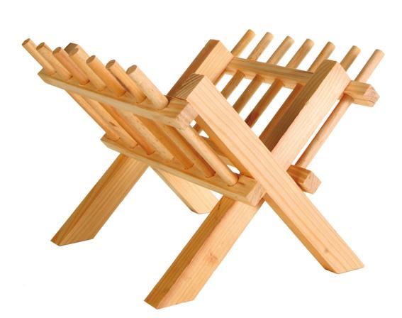 Höhäck trä fristående, 26 × 17 × 23 cm