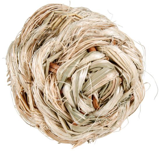 Gräsboll med bjällra 6 cm