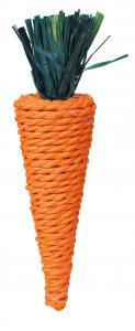 Gnagarleksak, morot 20 cm