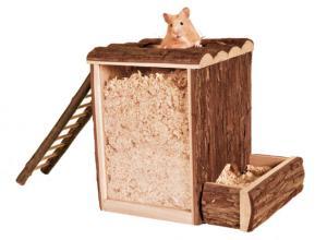 """""""NL"""" lek- och sovtorn, hamster, 25 × 24 × 20 cm"""