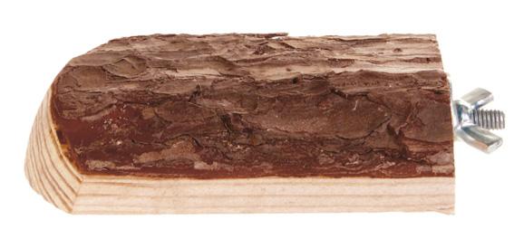 """""""NL"""" Trähylla m fixeringsskruv, 7 × 10 cm"""