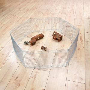 Hage hamster galv. 6 sekt 48x25 cm/sektion