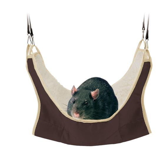 Hängmatta för råtta/iller 30x30 cm