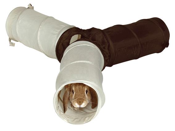 Gnagartunnel nylon 4 ingångar 18x47 cm/tunnel