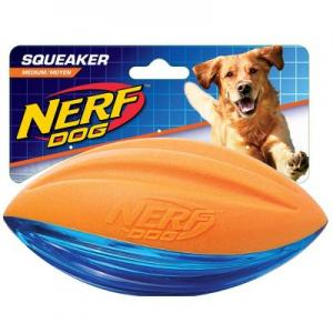 NERF PET TUFF FOAM AQUEAK FOOTBALL M