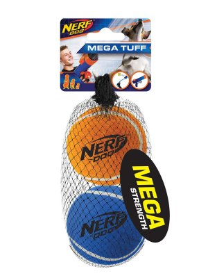NERF PET MEGA STRENGTH BALLS 2ST M