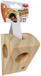 Gnagarostbit i trä Tyrol 11x8x7,5 cm