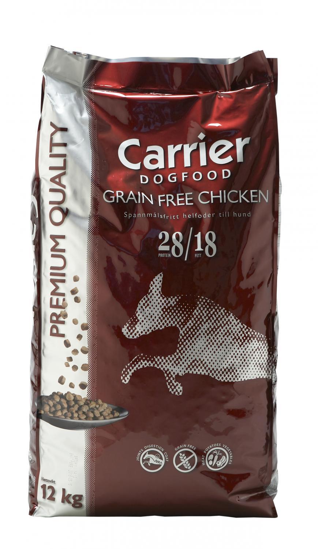 Carrier Grain Free Chicken 12 kg