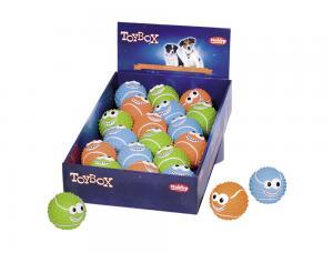Hundleksak Latex - Happy Balls - 6,5cm - D-18
