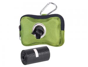 Bajspåsehållare Nylon - Hardy - 10x3x7cm - Grön