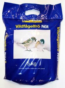Djur&Natur Vildfågelfrö Nöt 5 kg
