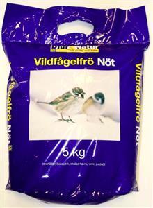 Djur&Natur Vildfågelfrö Nöt 20 kg