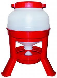 Foderautomat, röd 20 Liter 1 st