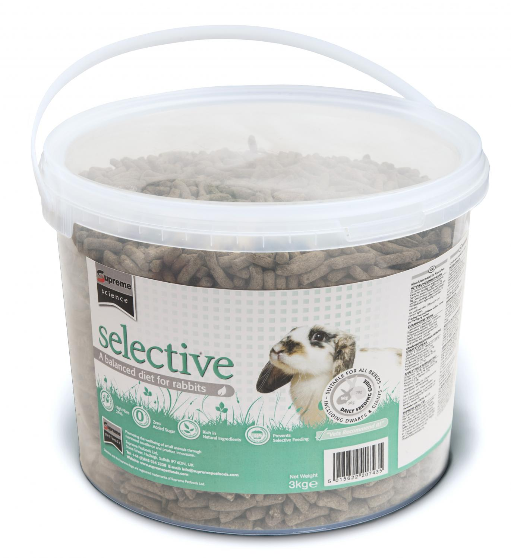 Selective Rabbit Bucket 3kg