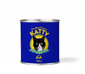 Katty Fisk Burk 800 gr